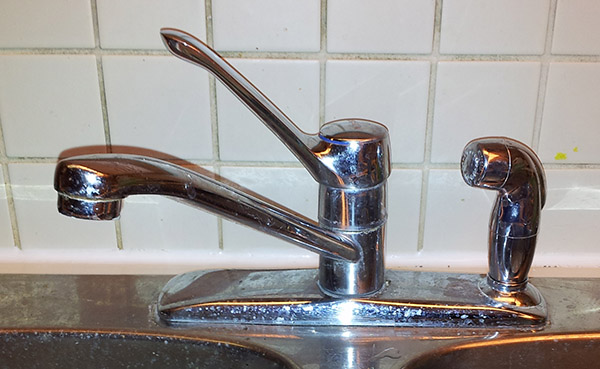 How To Tighten An Old Moen Kitchen Sink Faucet Where The Base Flange Is Loose And Wiggles Around Thinkbox