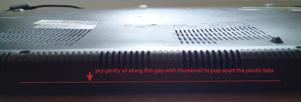 MSI Ghost Pro GS60 laptop is warped because of bad battery – step-by
